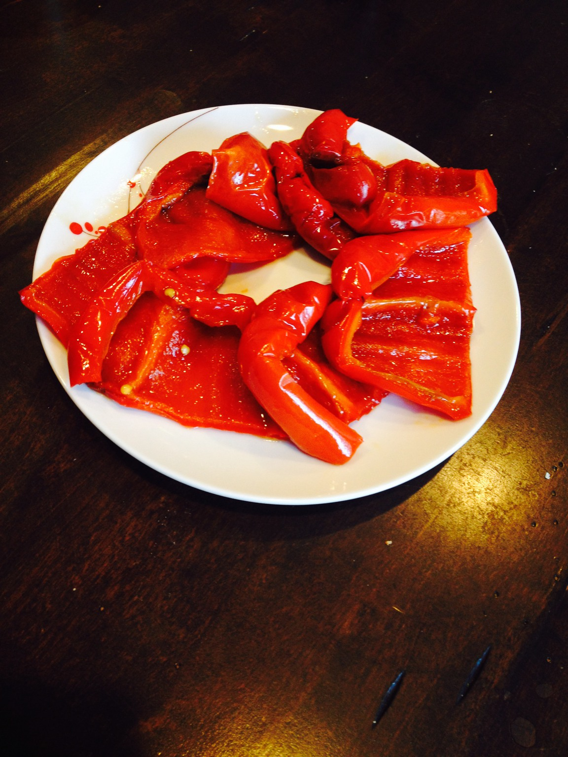 Recipe for Roasted Red Peppers: Slow Cooker (Crock-Pot)